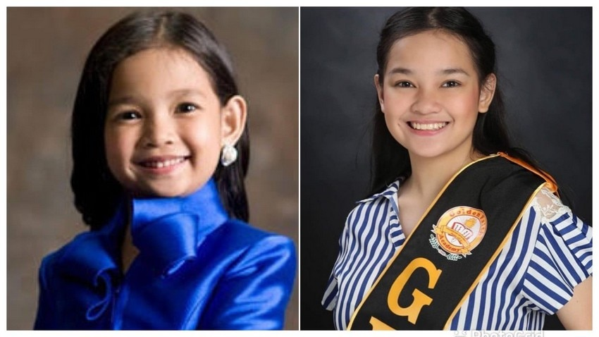 LOOK: A stunning, all grown up Xyriel Manabat begins her college journey