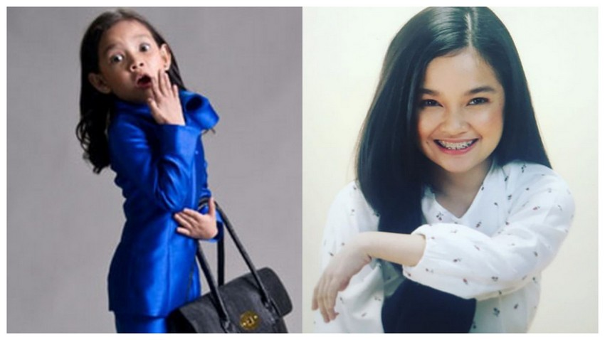 Transformation photos of former pinay child actress Xyriel Manabat