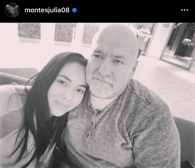 Rare photos of Julia Montes with her adorable family