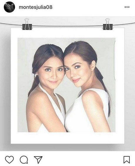 "#FriendshipGoals: Julia Montes with her ""original sister"" in showbiz"