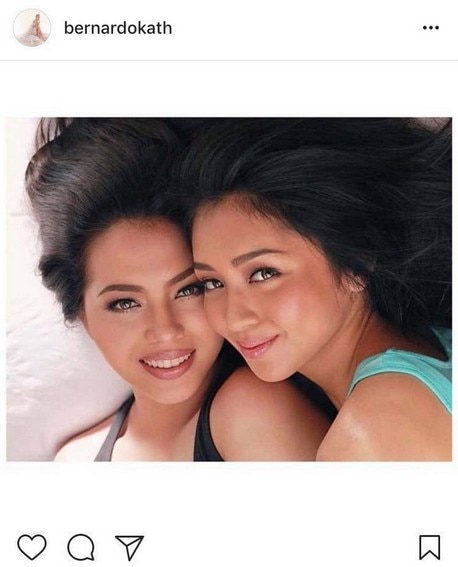 Julia Montes Kathryn Bernardo Friendship