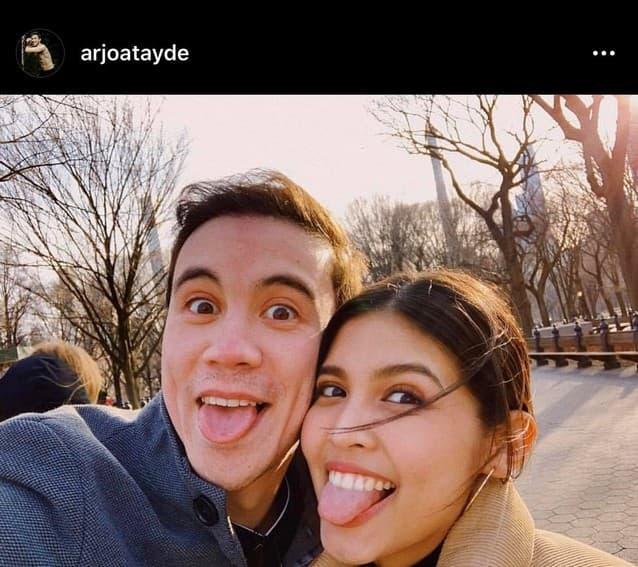 Rare photos of Arjo Atayde with his 'Maine' girl