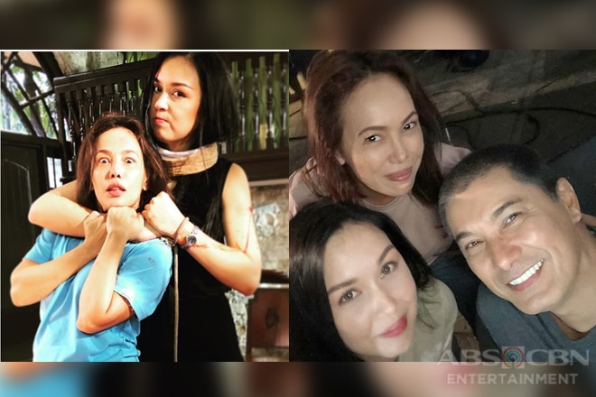 Behind-The-Scenes: Ana Abad Santos aka Kadenang Ginto's Eva do in between takes