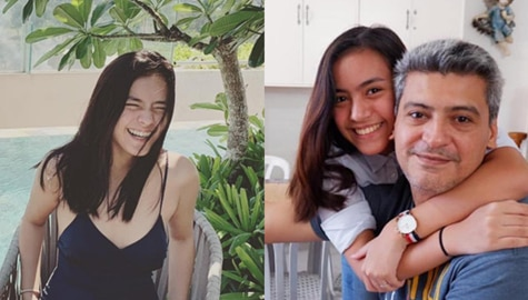LOOK: Joko Diaz with his lovely daughter