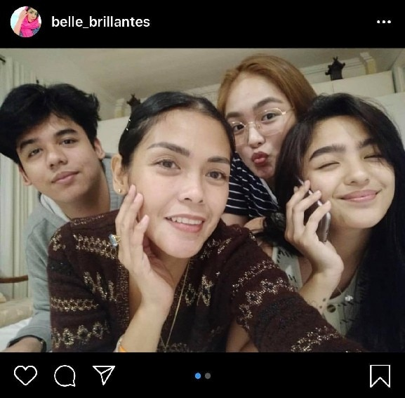 Andrea Brillantes her lovable family