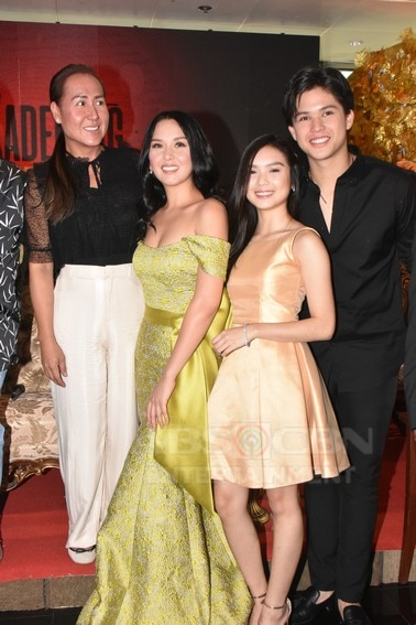 Kyle, Beauty and Andria in Kadenang Ginto Finale MediaCon