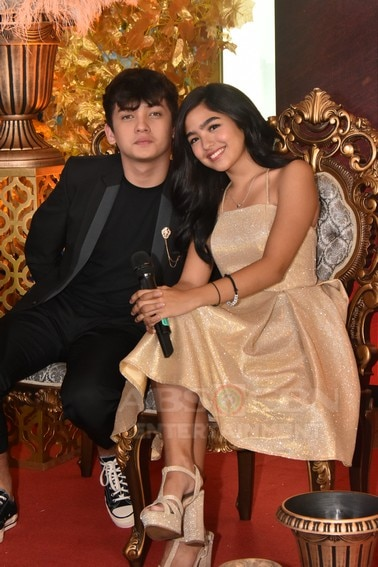Seth and Andrea in Kadenang Ginto Finale MediaCon
