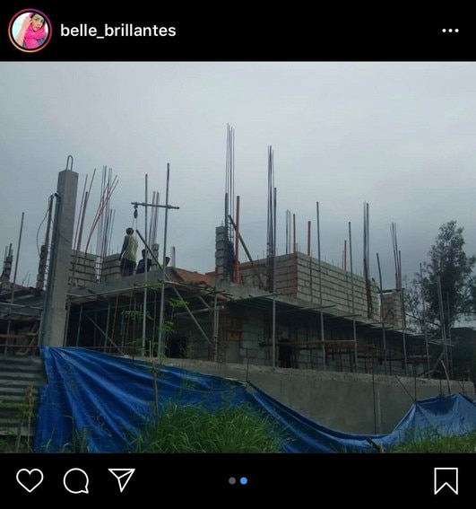 Take a look at Andrea's new home under construction