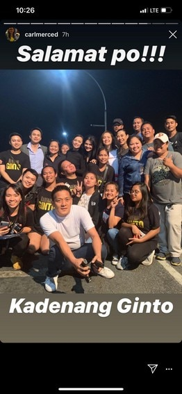 "What happened at the last taping day of ""Kadenang Ginto"""