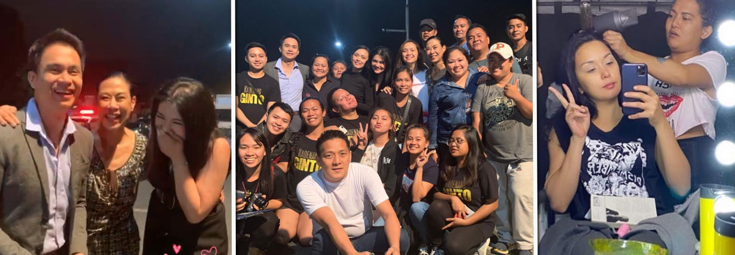 Kadenang Ginto Cast bids farewell at finale taping