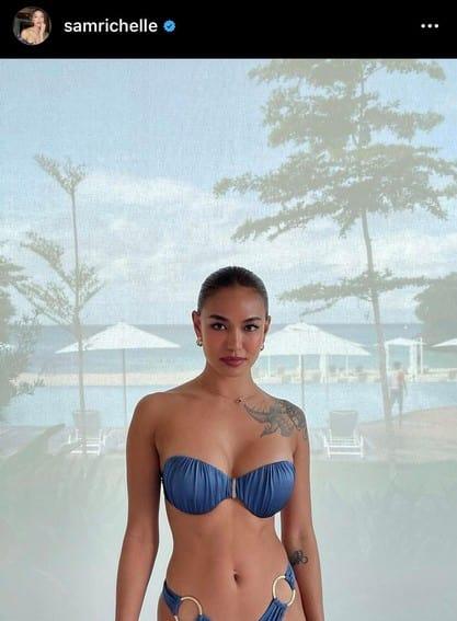 Almost Paradise samantha richelle sexy photos bikini swimsuit detective kai