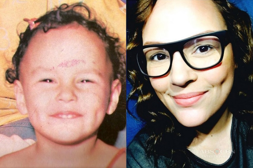 Then and now photos of Matet de Leon