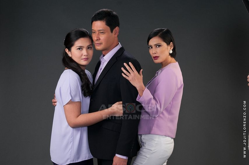Dimples Romana, Angel Aquino and Tonton Gutierrez in And I Love You So (2016)