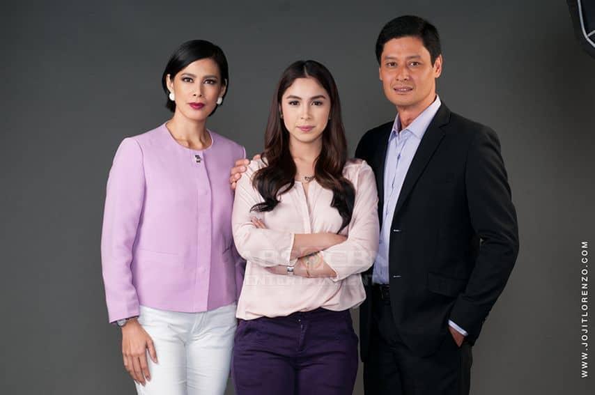 Angel Aquino, Julia Barretto and Tonton Gutierrez in And I Love You So (2016)
