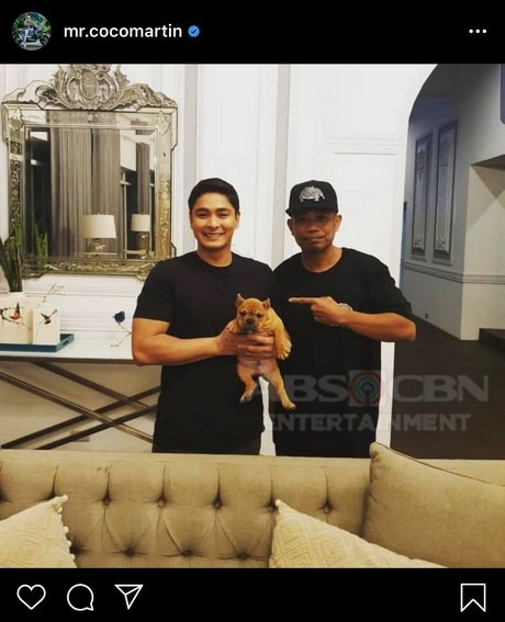 Meet Coco Martin's newest pet in these adorable photos