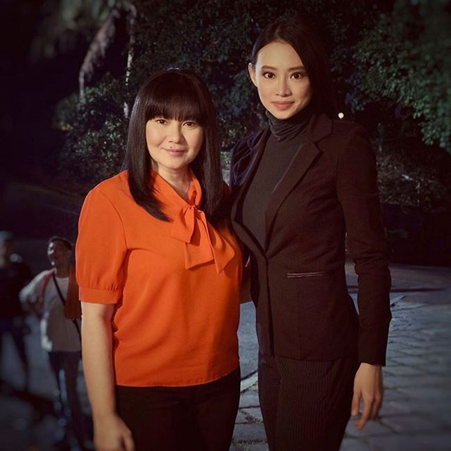 On the set of FPJ's Ang Probinsyano: Behind-the-scenes with Lorna Tolentino as LIly