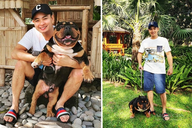 "Meet Coco Martin's newest best friend ""Tupac"""