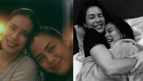 Angel Aquino with her lovely daughters Iana and Thea