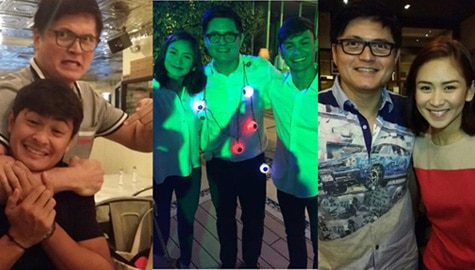 LOOK: Rowell Santiago with his all-time favorite couple