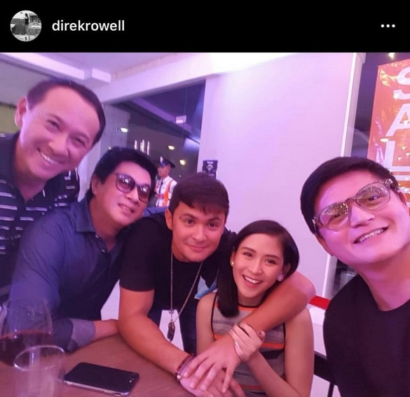 IN PHOTOS: Rowell Santiago with his favorite couple Sarah and Matteo