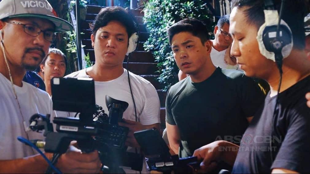 Caught on camera! Ang unang bakbakan nina Cardo at Juan   Behind-the-Scenes