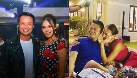 Bianca Manalo with her boyfriend Senator Win Gatchalian