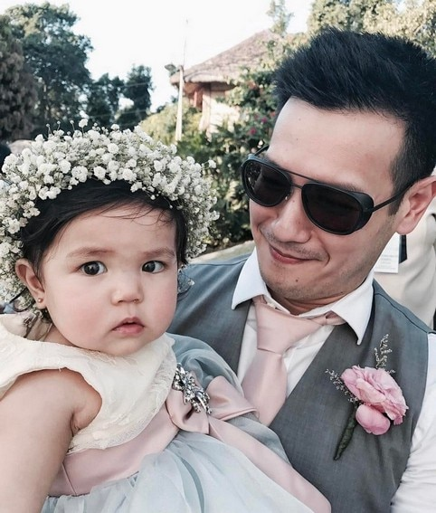 John Prats with his picture-perfect family