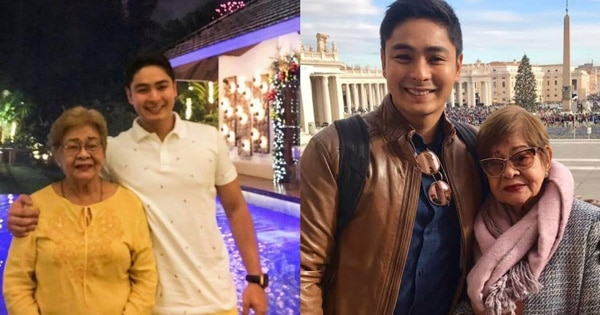 Coco Martin with his one and only Queen