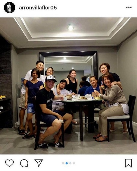 Aaron Villaflor with his picture-perfect family