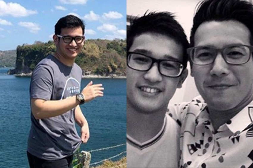 John Prats with his handsome brother Raffy