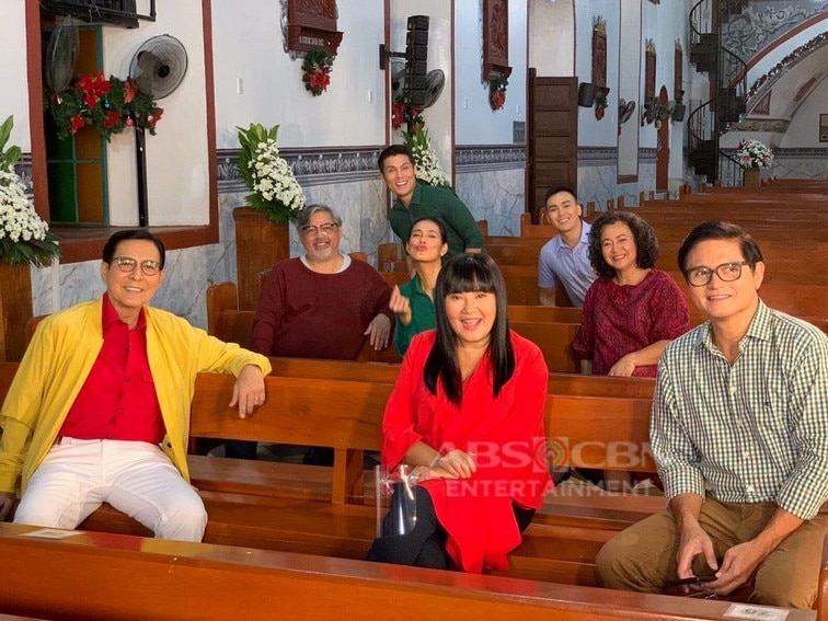 Ang Probinsyano Cast at the ABS-CBN Christmas ID 2020