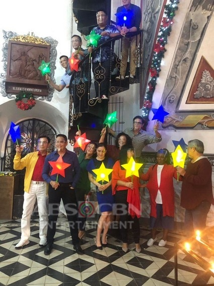 The fun off-cam moments of the FPJ's Ang Probinsyano cast during the ABS-CBN Christmas ID shoot