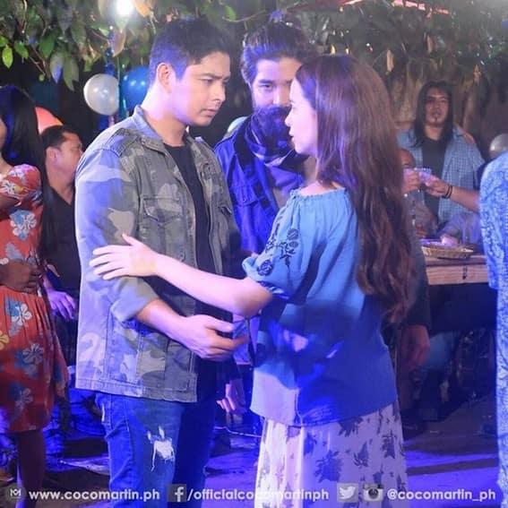 BEHIND-THE-SCENES: Kilig CarYana moments on the set of FPJ's Ang Probinsyano