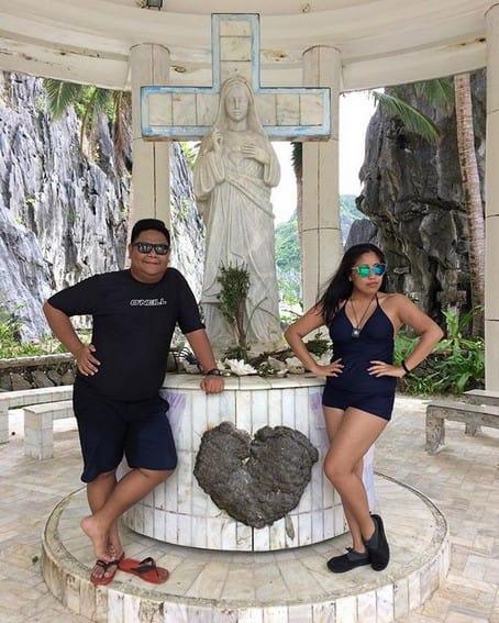 Photos of Nonong Ballinan with his partner Rej Duka