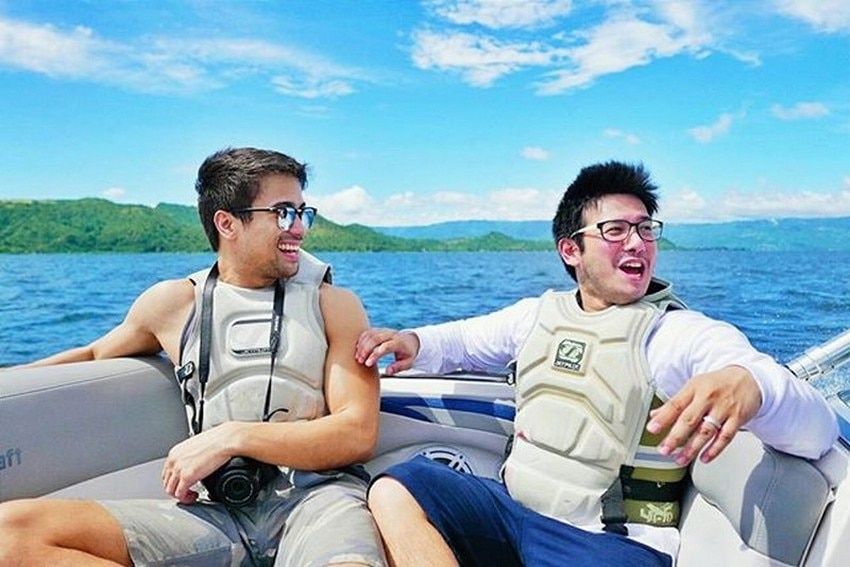 IN PHOTOS: John Prats with his hunky brodie for life