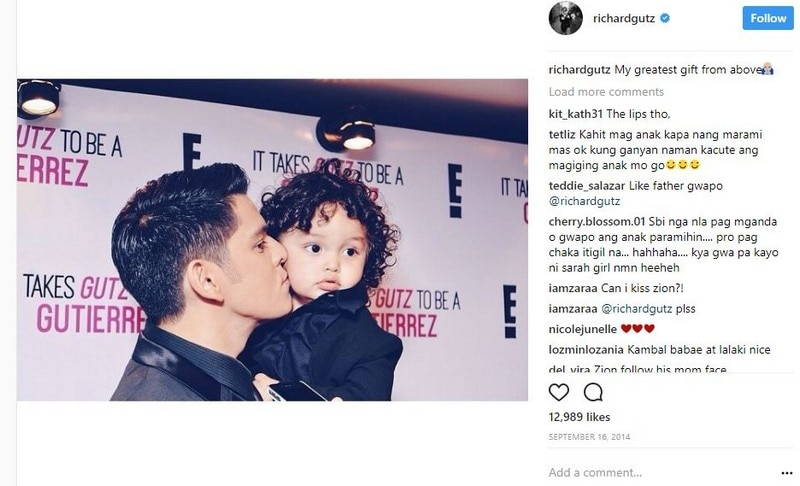 IN PHOTOS: Richard Gutierrez with his adorable little one