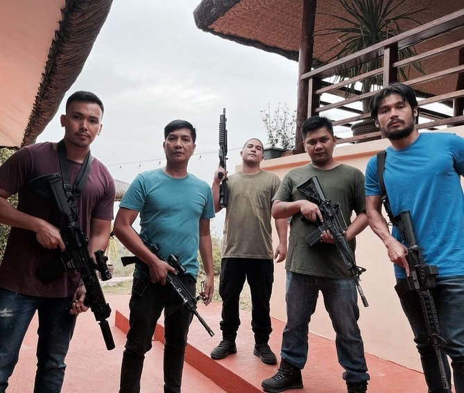 Task Force Agila takes break from intense action to bond pose for cam