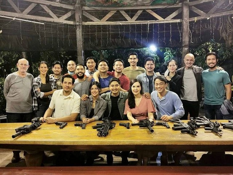 Behind-the-scenes photos of Jane De Leon's final episodes before a new chapter begins in FPJ's Ang Probinsyano.