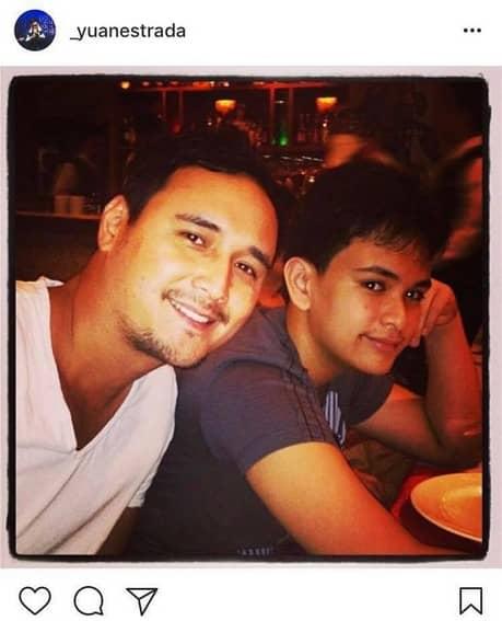 John Estrada with his adorable son Yuan
