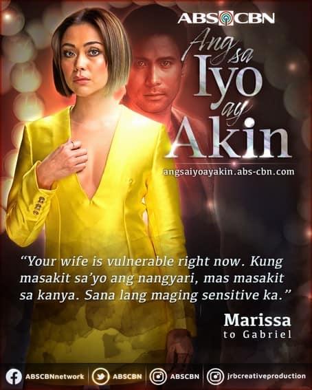 Marissa's powerful words that left a lasting mark on Ang Sa Iyo Ay Akin