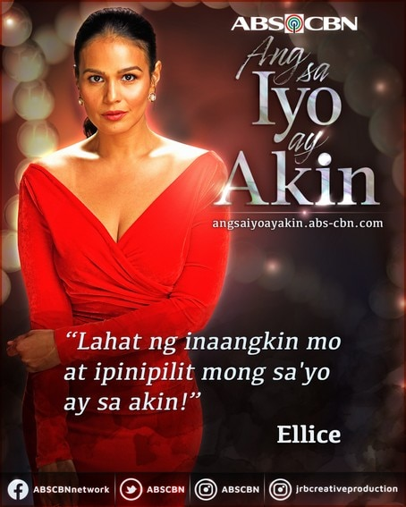 Ellice's intense, heart-wrenching quotes we will never forget on Ang Sa Iyo Ay Akin