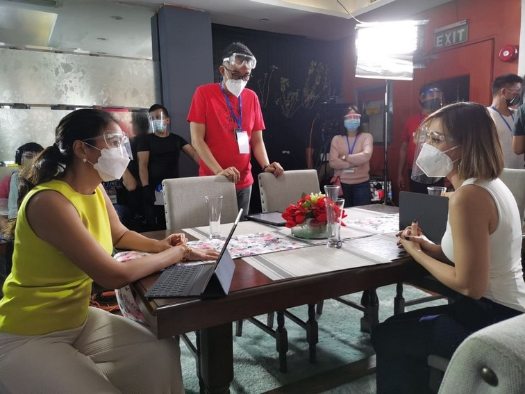 LOOK: On the set of 'Ang Sa Iyo Ay Akin'