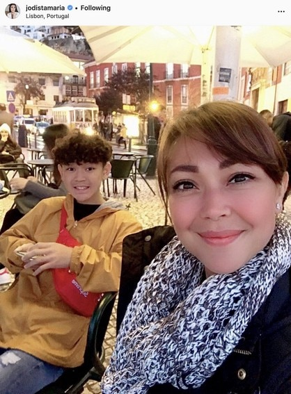 Jodi Sta. Maria's precious moments with her son Thirdy