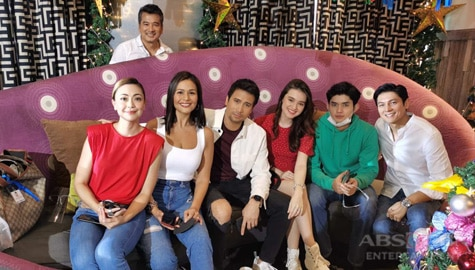 ASIAA cast ABS-CBN Christmas ID 2020