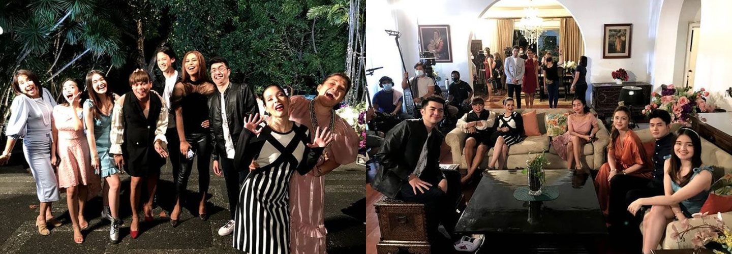 IN PHOTOS: Must-see behind-the-scene moments of Ang Sa Iyo Ay Akin stars