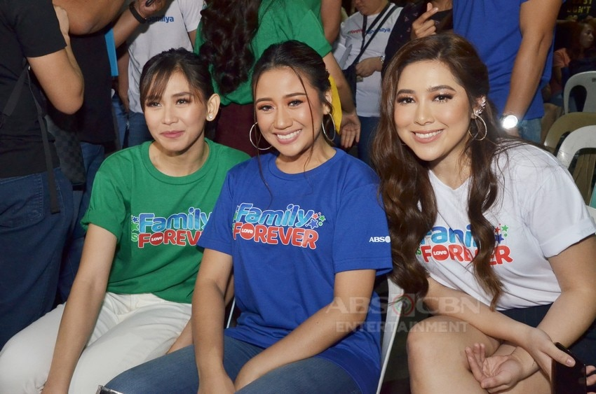PHOTOS: ASAP Natin 'To artist get into a festive mood in Family is Forever Christmas Station ID