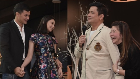 LOOK: Ogie Alcasid's star-studded surprise anniversary celebration for Regine!