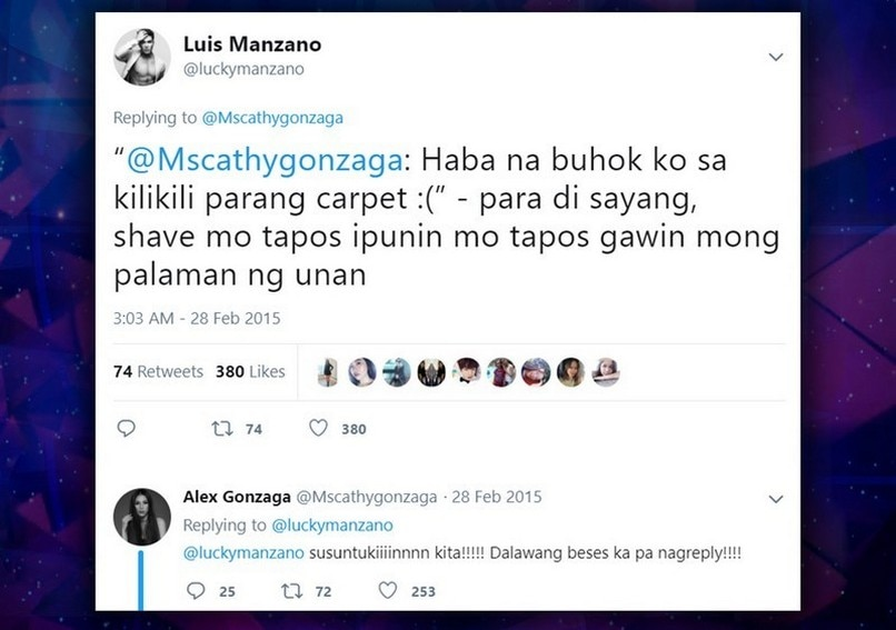 Luis Manzano Alex Gonzaga friendship