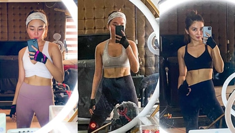 IN PHOTOS: Checkout Kathryn Bernardo's killer ABS!