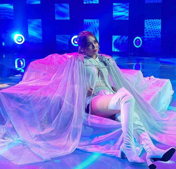 "The different looks of Kathryn Bernardo on her Blackpink's ""How You Like That"" performance"